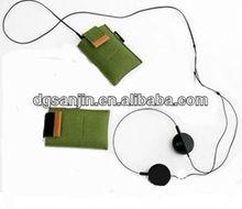 hot sale non woven felt cell phone case