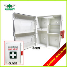 High quality work place plastic emergency first aid kit