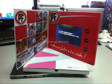 2.4 inch video brochure / tft screen lcd video card /games for video card 512mb