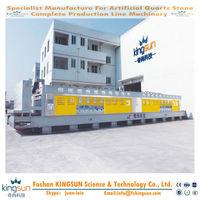 Good Quality KINGSUN 0.6~1 m/min Auto Stone Tile Polish Machine/Man-made Quartz Stone Surface Grinding Machines