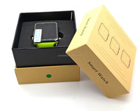 2013 watch phone waterproof android watch phone dz09 smart watch