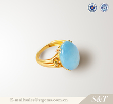Fine jewelry energy power adult men ring model
