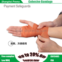 Own Factory Direct Supply Non-woven Elastic Cohesive Bandage Contemporary Wrap Finger Bandage .