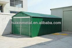steel frame big size car shed for sale