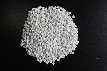 plastic raw material for blown film in white