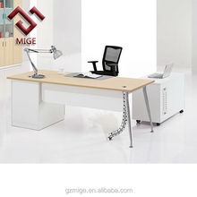 Modern simple MFC with melamine executive table
