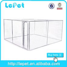 manufacturer wholesale galvanize tube chain link dog kennel runs/kennel for dog/large dog kennel
