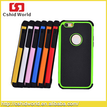 For iPhone 6 4.7 inch Football Skin Hybrid Silicone+Plastic Case 3 in 1 Back Cases Cover