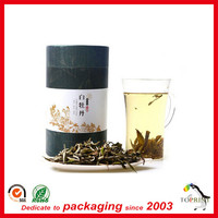 Professional custom made small round cardboard tube for tea, clothes packaging
