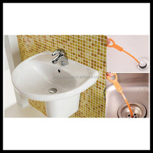 20'' plastic drain cleaner/cleaning tool for kitchen, bathroom, sink