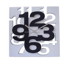2015 new design promotional plastic 3D clock