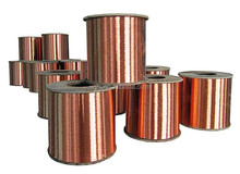 Copper Clad Aluminum CCA Wire 0.10mm-0.50mm soft and hard