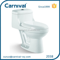 2038 China supplier siphonic one piece flush fitting toilet
