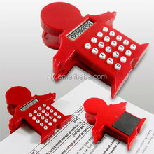 hot sale man shape mini calculator with 8 digit display