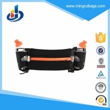 Walking Running Waist Belt Bag + Two 150ml Water Bottle Holder Stander For Smartphone And Key