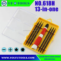 13 in 1 tool kit for Mobile Phone , 13 in1 set Repair Tool Kit Screwdrivers For PC/ PDA/ Mobile Phone Repair Tools