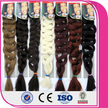 wholesale synthetic braiding hair two tone synthetic ombre marley hair braid