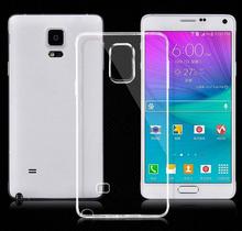 Customs Premium durable soft ultra thin slim clear rubber gel tpu case for Samsung Galaxy Note 5