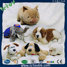 lifelike sleeping plush dog toy made in shenzhen city