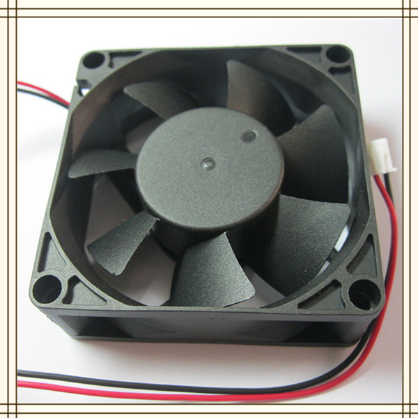 Small electric fan motor for 7025 dc cooling fan 12v 24v for Small dc fan motor