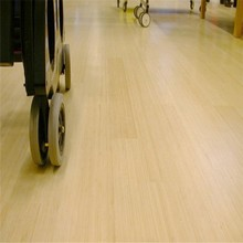 Healthy and soundproof bamboo flooring for hospital and bathroom