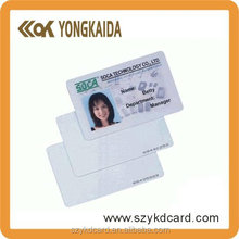CR80 Writable EM4305 Rfid Card For Employee ID Manufacturer