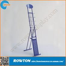 Iron wire brochure stands rack metal display