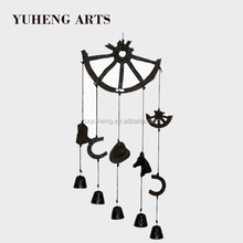 Supply Metal Wall Art Unique Stylish Hanging Cast Iron Wind Chime