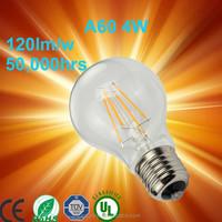 Vintage Antique Style decorative Edison Tungsten Filament bulb 110v 220v 40w 60w E27 A19 carbon filament bulb