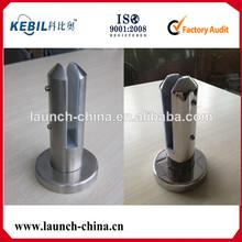 plaque ronde de base robinet de verre pour balustrade en verre