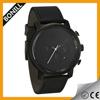 Popular fashion MVMT watch chronograph vogue black/Tan custom watch