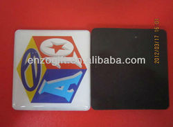 Business card epoxy paper fridge magnet With Custom Logo