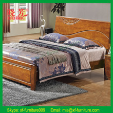 Promotion new furniture product China supplier carved solid wood bedroom furniture (XFW-626)