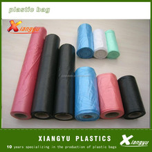 Huge and heave duty black value packed plastic garbage bags 30.5*70cm