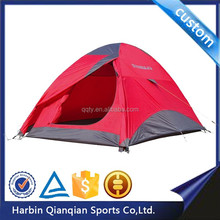 HT9185 2 person waterproof heated outdoor camping shelter tent