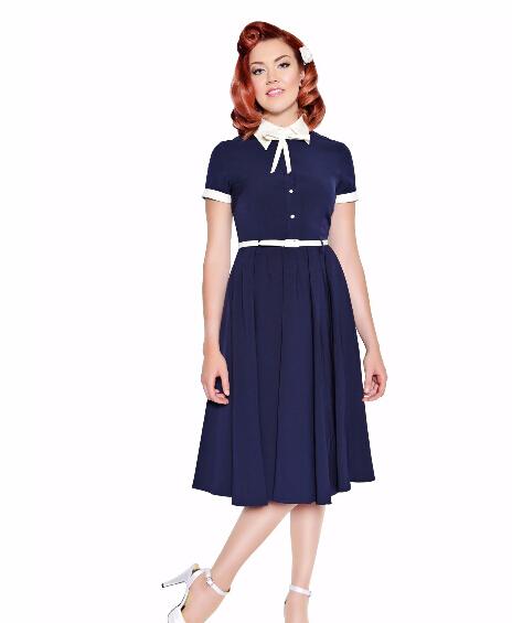 dy0143a uk fashion high quality vintage dress