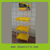 Cheapest promotional wire rack/metal art display stands