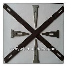 Xinyuan Hardware flat tie wedge pin