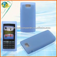 For Nokia X3-02 Light blue mobile phone silicone cover