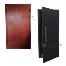 Wood grain interior sound proof door for theatre
