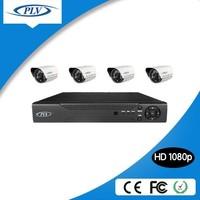 Most selling 4 channel 2mp CMOS Image Sensor cctv h.264 diy dvr kit