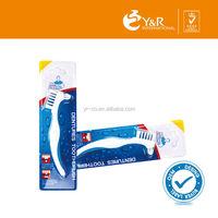 YRDT021 Deep Cleaning Denture Care Denture Toothbrush