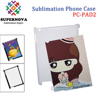 Dye Sublimation PC Cases for iPad2, Customize Phone Cases