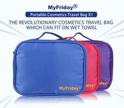 Wholesale Good Quality Travel Hanging Hotel Toiletry Bags/Cosmetic Bag/Waterproof Bath Toiletries Kits