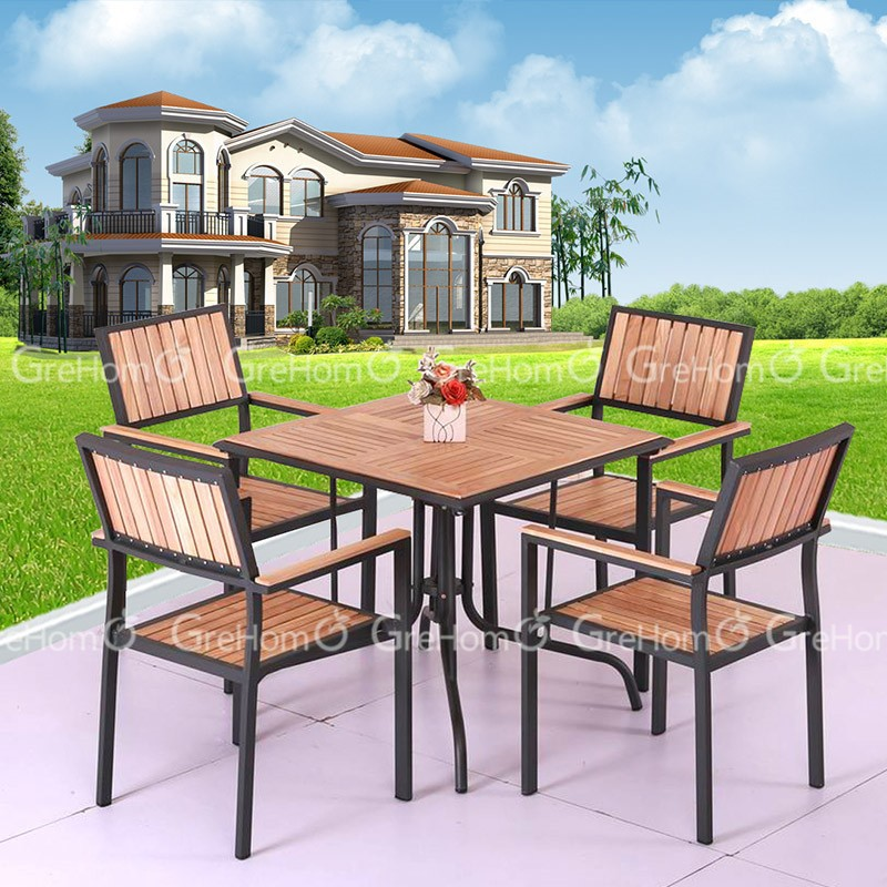 High quality outdoor solid teak wood outdoor furniture for Quality patio furniture