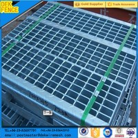 Banded Galvanized Flooring Expanded Metal Steel Grate
