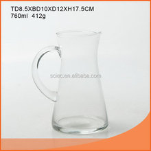 Bottom price Crazy Selling 760ml footed beer glass