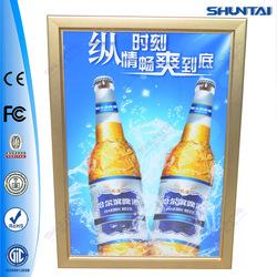 snap aluminum led panel light custom frame