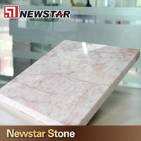 beautiful decoration pink marble floor tile