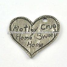 Handmade love heart pendants wholesale